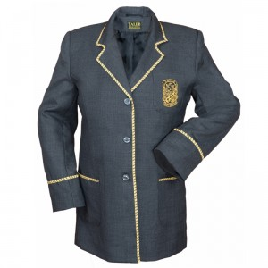Girls School Blazer Satin Binding sq